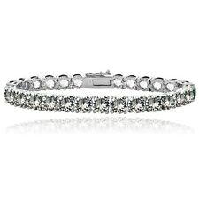 Clear Swarovski Elements Tennis Bracelet