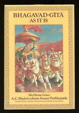 Bhagavad Gita As It Is by Bhaktivedanta Prabhupada Abridged Edition 1976 HC/DJ