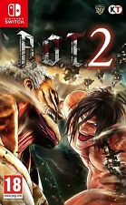 ATTACK ON TITAN 2 - NINTENDO SWITCH - NUOVO SIGILLATO!!