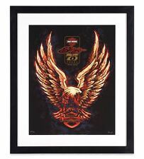 Limited Edition Eagle75 Official Harley-Davidson,Sturgis 75th Anniversary Print