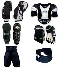 Youth Medium Ice Hockey Protective Gear Kit Set Kids Mite Equipment Pack New