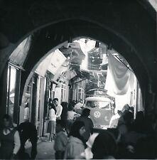SYRIE c. 1960 - VW Combi Souk Commerces  Damas  - Div 10193