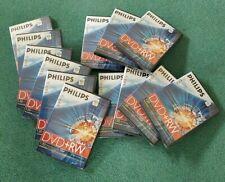 15 Brand New Phillips DVD- RW 120 min 4.7 gb discs