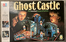 Ghost castle board game MB Games 1985 Complete