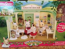 Calico Critters Country Doctor Office Playset Toy CC1403 NRFB Retired