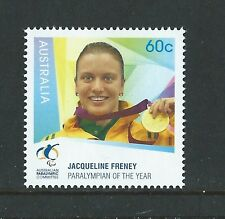 AUSTRALIA 2012 PARALYMPIAN OF THE YEAR UNMOUNTED MINT, MNH