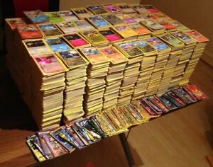 5-1000 Joblot Genuine UK Pokemon Cards Bundles-No Doubles Holos & Rare Cards!!