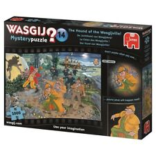 Wasgij Mystery Puzzle 1000 Piece The Hound of Wasgijville  #14 Cartoon Jigsaw