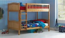 Wooden Bunk Bed Kids Childrens Caramel 3ft Rosa With or Without Mattresses