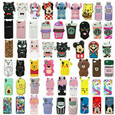 Case For iPhone 11 6 7 8 Plus Touch 6 3D Disney Cartoon Soft Silicone Kids Cover