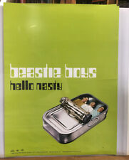 "Beastie Boys 'Hello Nasty' 18"" x 24"" Poster - 1998 - Capital Records"