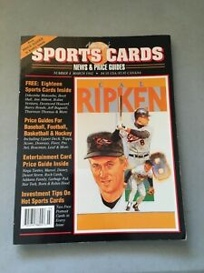 ALLAN KAYE'S SPORTS CARDS.#4 MARCH 1992.  18 SPORTS CARDS INSIDE, ORIGINAL OWNER