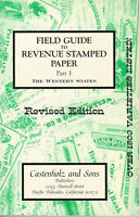 The Western States, Field Guide to Revenue Stamped Paper, catalog and handbook