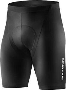 ROCKBROS Men's Cycling Shorts Padded Quick-Dry Riding Tight Pants Bike Shorts