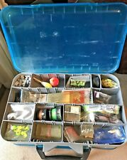 Fishing Tackle Box And Mixed Lot Weights Hooks Ect 5 Pounds Of Fishing Fun