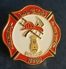 VINTAGE SHRINERS MASONIC GOLD ENAMELED LA CT 84 FIREMAN DIRECTOR LAPEL PIN 2009