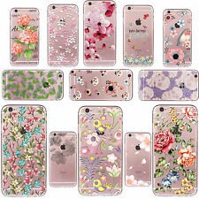 Etui Housse Coque TPU Soft Silicone Case Cover For iPhone 4s 5s 5c 6s 7 Plus SE