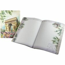 Punch Studio Travel Soft Cover Journals - Arc De Triomphe Paris Painting 45509