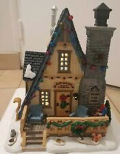 Porcelain Lighted Building LEMAX Edelweiss Cabin 35573