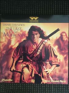 THE LAST OF THE MOHICANS Laserdisc Widescreen Edition