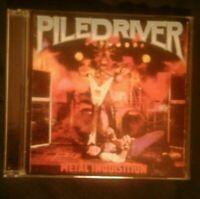 Piledriver Metal Inquisition/ Stay Ugly CD FMP'97 Venom Manowar Bathory Razor