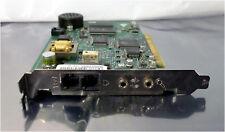 3Com 3CP2976-OEM-50 56 Kbps Voice PCI Modem Card with Audio I/O, Model 0727
