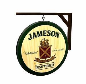 Irish Whiskey Pub Signs English Antique Table Bar Home Shop Tavern Decor Retro