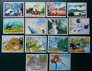THE ANIMALS/ADVENTURES OF FARTHING WOOD   PANINI STICKERS 1990s X15