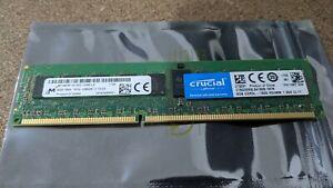Micron MT18KSF1G72PZ 8GB 1Rx4 PC3L-12800R 1600MHz Reg Server Memory