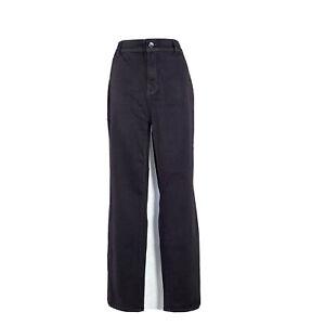 Chicos Jean Platinum Jegging Skinny Dark Purple 5 Pocket Stretch Hi Waist 2.5 XL