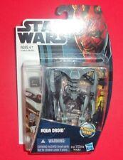 Star Wars Hasbro - New Action Figure - Aqua Droid Cw10 - The Clone Wars