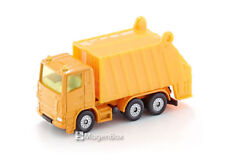 Siku Diecast Metal Mini Car #0811 Müllwagen Refuse Garbage Truck Yellow Clr Mib
