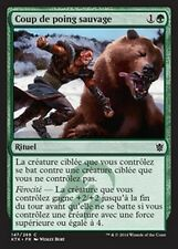 MTG Magic KTK - (4x) Savage Punch/Coup de poing sauvage, French/VF