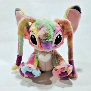 "Disney Lilo and Stitch Girlfriend Rainbow colorful ""Angel""  Plush Toy 30cm"