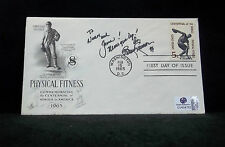 Richard Simmons Autographed/Signed FDC/First Day Cover W/Global COA-Fitness