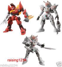 BANDAI NEO Robotics Gashapon Figure (3 pcs) Code Geass Guren MK-II & Alexander