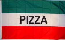 NEW 3X5FT ITALY PIZZA BANNER PRINT SIGN  STORE FLAG