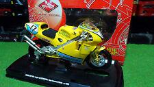 MOTO HONDA NSR 500 TEAM KANEMOTO RACING #17 Jaune au 1/10 GUILOY 13662 miniature