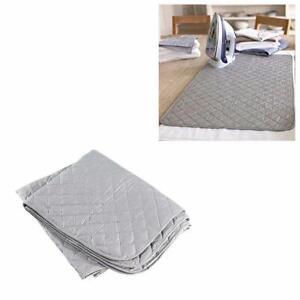 Padded Iron Cover Garment Ironing Mat Storage Foldable 91cm x 55cm 4761