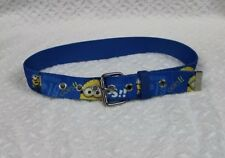 Minion canvas child belt Small/Med. waist 22-28 inch Despicable Me