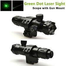 Tactical Hunting Green laser Dot sight outside Mount adjust For rifle gun scope