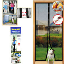 Instant Mesh Screen Door Magnetic Hands Free Bug Mosquito Fly Pet Patio Net New