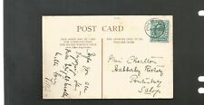 Pontesbury Shropshire cancel 1904