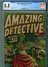 Amazing Detective #11 Atlas Comics 1952 CGC Graded 5.5