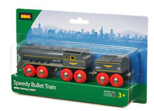 BRIO 33697 Speedy Bullet Train - Railway Rolling Stock Age 3-5 years / 2 pcs