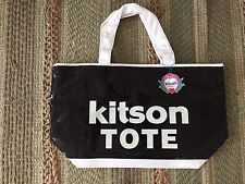 Kitson Los Angeles Black Sequin Large Tote Bag