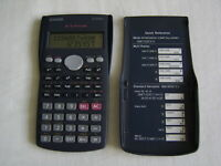CASIO FX-83MS S-V.P.A.M. Electronic Scientific Calculator with Slide Cover