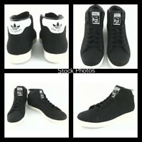 NEW ADIDAS STAN SMITH Snake Black White Women's 10 Shoes Sneakers BB4863