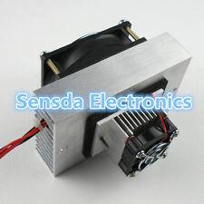 DIY Thermoelectric Peltier Refrigeration Cooling System Kit Cooler fan C12705