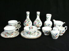 Aynsley Pembroke Lot of 14 Pieces Cups Plates Vases and Bowls